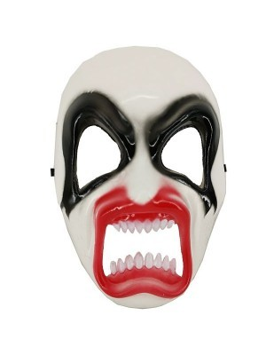 Killer Kiss Gene Simmons Plastic Face Mask Halloween Fancy Dress Costume