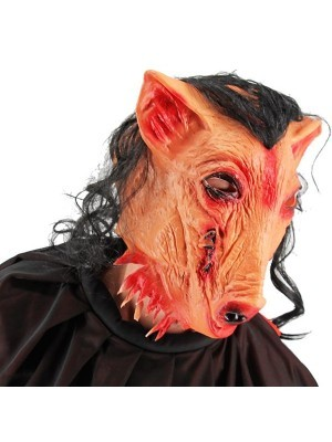 Evil Killer Pig Mask Halloween Fancy Dress Costume