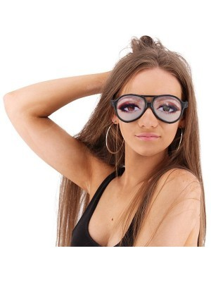Ladies Night Out Funny Eye Glasses