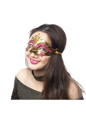 'Little Fairy' Mask Gold