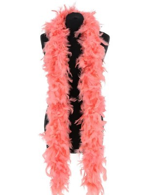Luxury Flamingo Pink Feather Boa – 80g -180cm
