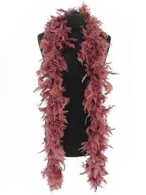 Luxury Plum Feather Boa – 80g -180cm