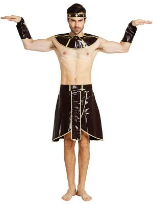 Male Egyptian King Pharaoh Fancy Dress Costume – One Size