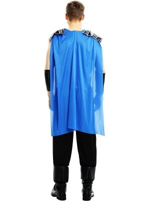 Male Roman Soldier Gladiator Fancy Dress Costume Style 4 – One Size