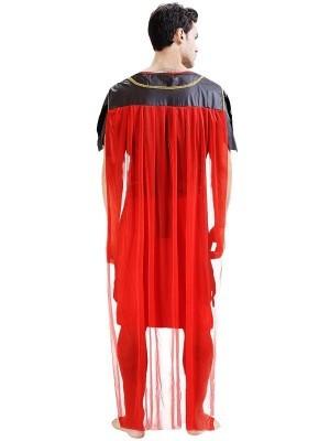 Male Roman Soldier Gladiator Fancy Dress Costume Style 5 – One Size