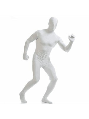 Adult Sized Morphsuit In White