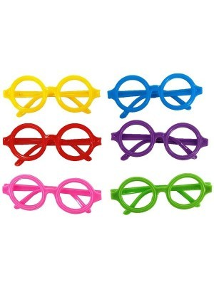 Kids Size Pack Of 6 Small Round Sunglasses