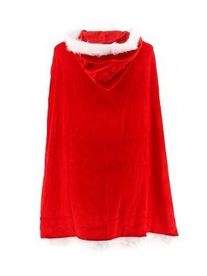 Mrs Claus Christmas Fur Cloak