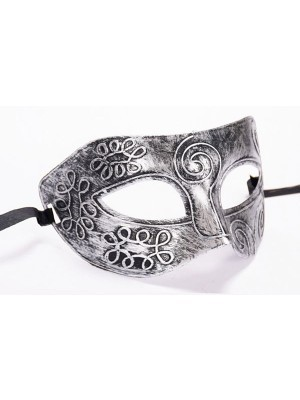 Warrior Face Mask silver