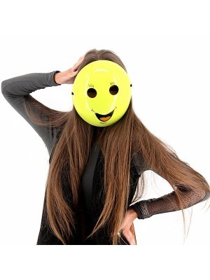 Smiling Emoji Mask