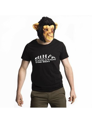 'Evolution Stag Night' T-shirt