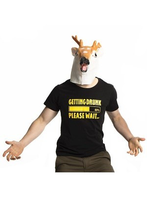 'Getting Drunk Please Wait' Stag Do T-shirt