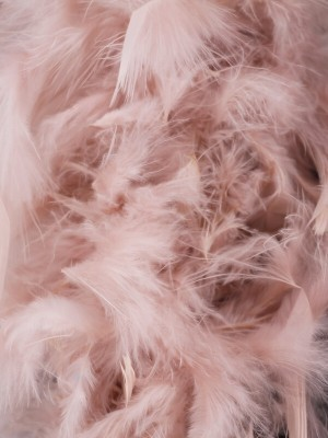 Luxury Dust Storm Pink Feather Boa – 80g -180cm