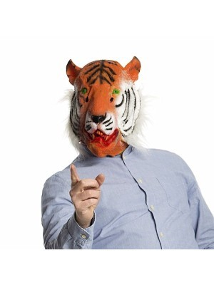 Fancy Dress, Costume Tiger Head Mask