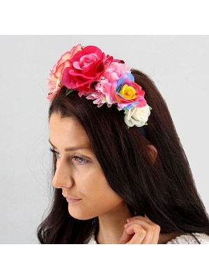 Tropical Mixed Flower Crown