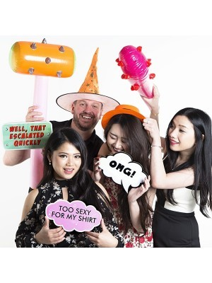 OMG! Speech Bubble Photo Booth Prop