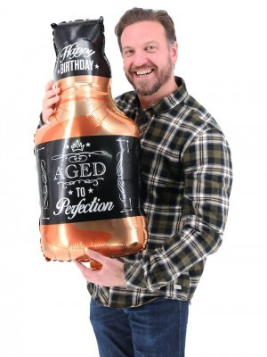 Giant Whisky ' Aged To Perfection' Bottle Balloon