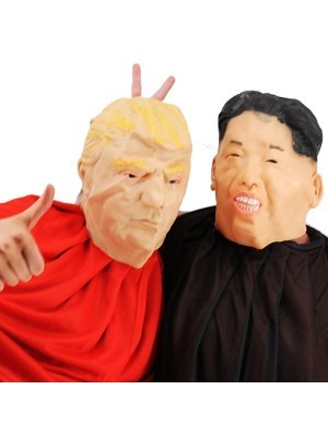 Fancy Dress Costume President Kim Jong Un Look-a-like Head Mask