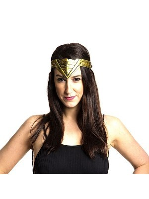 Gold Movie Headband Tiara