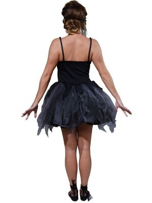 Zombie Ballerina Women's Halloween Fancy Dress Costume
