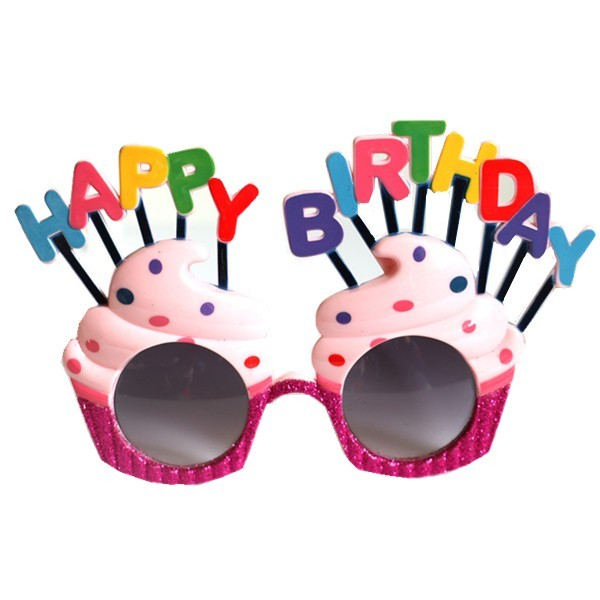 Happy Birthday Star Crown Sunglasses